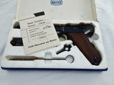 "Interarms Mauser Luger Navy 30 Caliber NIB "" with Factory Test Target """