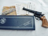 1977 Smith Wesson 14 Full Target NIB