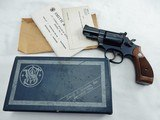 1966 Smith Wesson 19-2 2 1/2 Inch In The Box
