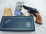 1970's Smith Wesson 28 4 Inch In The Box