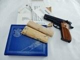 1980 Smith Wesson 39 9MM NIB