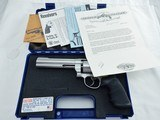 2001 Smith Wesson 627 Lew Horton 47 Made NIB