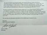 "2001 Smith Wesson 627 Lew Horton 47 Made NIBPRE LOCK"" SUPER RARE "" Factory Letter - 3 of 7"