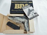 "1977 Browning BDA 38 Super Germany NIB"" Very Rare "":"