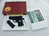 Colt Mustang 380 New In The Box
