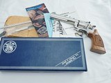 Smith Wesson 17 K22 Factory Nickel NIB