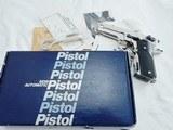 1982 Smith Wesson 459 Nickel Round Guard NIB