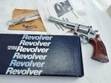 1984 Smith Wesson 66 357 6 Inch NIB