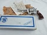 """1966 Smith Wesson 27 5 Inch Nickel In The Box"""" S PREFIX """""""