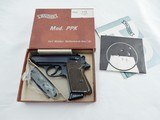 1968 Walther PPK 32 NIB