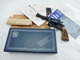 1973 Smith Wesson 34 Kit Gun 4 Inch NIB