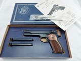 1960's Smith Wesson 52 38 Master NIB