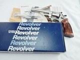 1982 Smith Wesson 29 Magnum Nickel NIB