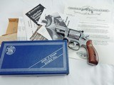 1981 Smith Wesson 66 2 1/2 Inch A Engraved NIB