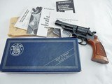 1981 Smith Wesson 19 4 Inch Full Target In The Box