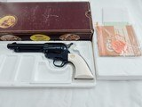 Colt SAA 44-40 All Blue Factory Ivory NIB