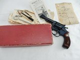 1953 Smith Wesson Pre 34 Kit Gun NIB