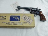 1956 Smith Wesson Pre 24 1950 Target In The Box - 1 of 12