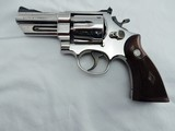1967 Smith Wesson 27 3 1/2 Inch Nickel S Serial #