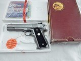 1989 Colt 1911 Gold Cup Stainless NIB