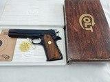 1977 Colt 1911 Government 45ACP NIB