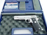 Colt 1911 Gold Cup Bright Stainless In The Box