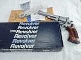 1985 Smith Wesson 657 6 Inch NIB