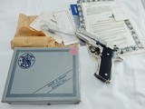 1978 Smith Wesson 59 9MM Nickel NIB