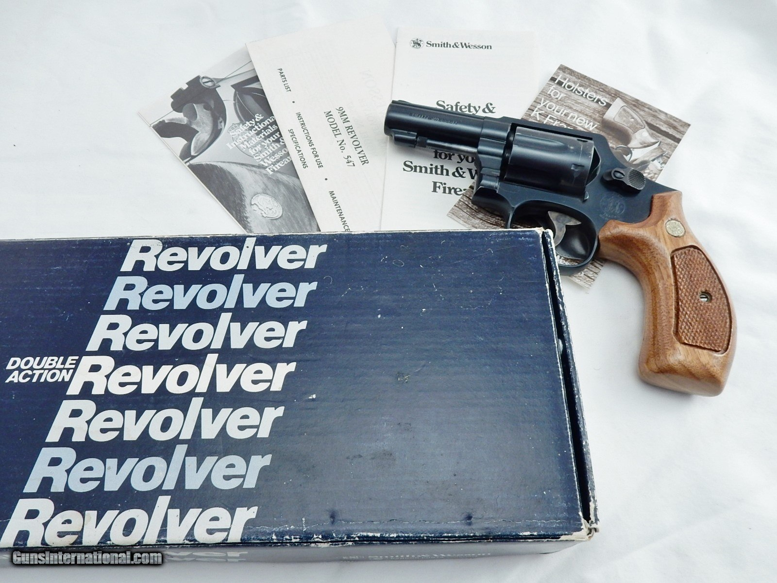 1983 Smith Wesson 547 9MM 3 Inch In The Box