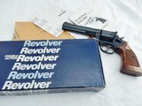 1988 Smith Wesson 586 6 Inch In The Box