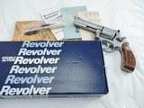 1988 Smith Wesson 686 CS-1 4 Inch NIB