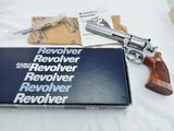 1986 Smith Wesson 686 6 Inch NIB