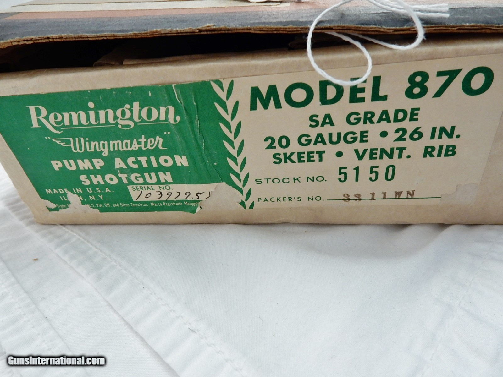 1966 Remington 870 20 Sa Skeet In The Box Early Brown And White Wingmaster Parts List Wallpapers