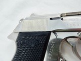 """1971 Walther PPK/S Factory Nickel 380"""" RARE """" - 5 of 10"""