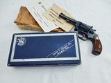 1960's Smith Wesson 34 4 Inch NIB