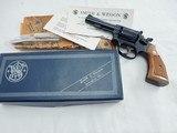 1970 Smith Wesson 15 Combat Masterpiece NIB