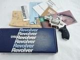 1994 Smith Wesson 442 Nickel NIB