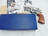 1981 Smith Wesson 586 4 Inch Nickel NIB