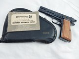 1966 Browning Hi Power 9MM New In Pouch