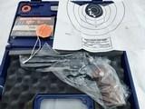Colt Python Elite Blue 357 Test Target NIB