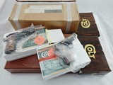 "Colt Mark IV 380 Government Deluxe Set New In Box "" Complete with outer shipping box