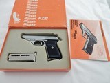 1986 Sig Sauer West Germany P230 380 In The Box