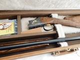 """1975 Browning Superposed Superlight Midas """" NEW IN CASE """" Double Signed """" 20 Gauge Small Bore"""