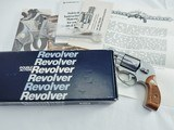 1986 Smith Wesson 649 Low Number NIB JINKS LETTER