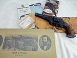 2000 Smith Wesson Schofield Wells Fargo NIB