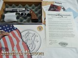 """1999 Smith Wesson 681 7 Shot NIB"""" RARE """"Only 25 Made Roy Jinks Historical Foundation Letter 357 Un Cataloged"""