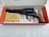 1978 Ruger Old Army Blackpowder In The Box