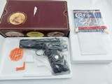 """Colt Commanding Officers 9MM 500 Made In The Box""""OLD PRODUCTON """" Maroon Box"""