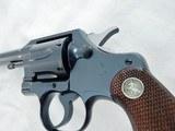 1937 Colt Official Police Pre War MINT - 3 of 8