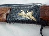 "Citori Grade VI Hand Engraved Hunter 20 Gauge"""""" VERY RARE SIGNED GUN """"""EARLY grade 6 - 7 of 11"
